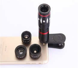 Wholesale Mobile Phone Camera Lens X x wide Angle macro tetrahedral fish eye for iPhone Samsung Xiaomi And Smart Phone