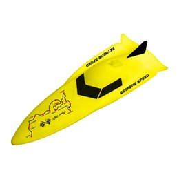 speed wing NZ - 2.4G Mini Speedboat RC Boat High Speed Remote Control Boat Navigation Model for Children Toys