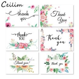 6 cartão + 6 envelope por conjunto dos desenhos animados mini cumprimento obrigado cartão de aniversário de natal cartão de presente envelope papel de carta de escrita atacado