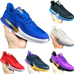 kobe men basketball shoes Australia - With Box 2019 Kobe Zoom Fly Wire Man Low Top Basketball Shoes Kobe EP TPR and Buffer Rubber Sports Shoes