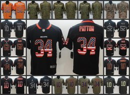 Chicago Men Bears Football Jersey  52 khalil Mack 10 Mitchell Trubisky 24  Howard 34 Walter Payton Women Youth Football Jerseys f186cdf9f