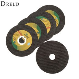 drill cutters UK - bicycle wheel 5Pcs Dremel Accesories Cutting 125mm Ultra-thin Resin Grinding Wheel Cut Off Cutter Abrasive Disc for Dremel Rotary Tool