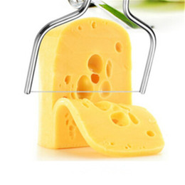 Butter Cutter Australia - 1pcs Stainless Steel Cheese Wire Cutting Machine Cheese Butter Cutter Cheese Cake Knife For Cooking Kitchen Tools