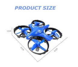 $enCountryForm.capitalKeyWord Australia - Sensing flying saucer quad intelligent infrared hovering gesture UFO remote control drone children light toys Free Shipping