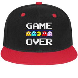 $enCountryForm.capitalKeyWord NZ - Pac-Man Retro Game Over Unisex Mens Hats Women's Hat Printed Cotton Snapback Flatbrim Sports Hat Baseball Caps for Women