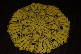 hand crocheted tablecloths 2020 - 1PCS Handmade crochet doily Hand crochet doily, size 15.7 inches (40 cm), Tablecloth wedinng centerpiece, round doilies,