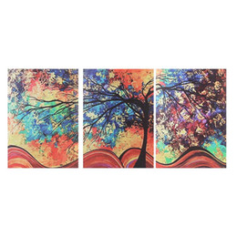 Discount colorful tree wall art - Unframed Framed Abstract Colorful Tree Canvas Print Painting Wall Art Picture Poster Bedroom Living Room Home Decor 3 Pi