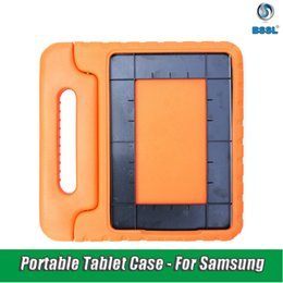 eva foam cover NZ - For Samsung Galaxy Tab Case Kids Shockproof EVA Foam full Cover for Advanced2 T583 Portable Children hand-held Stand Holder Tablet Case