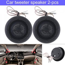 high efficiency cars NZ - 2pcs 150W Universal Durable High Efficiency Mini Half-Dome Car Tweeter Speakers for Car Audio System
