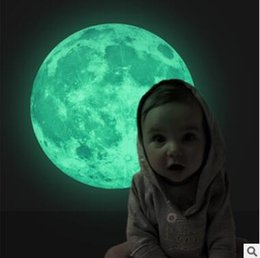 Wall sticker earth online shopping - Luminous Moon Earth DIY D Wall Stickers for Kids Room Bedroom Glow In The Dark Wall Sticker Home Decor Living Room Colors