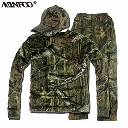 $enCountryForm.capitalKeyWord Australia - Spring Summer Bionic Camouflage Quick-dry Hunting Suit Tactical Breathable Durable Ghillie Suits Long sleeves T-shirt clothing