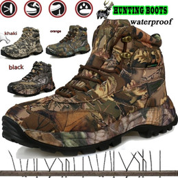 Army combAt boots online shopping - CUNGE Men Outdoors Waterproof Climbing Hiking Shoes Trekking Hunting Fishing Hiking Boots Army Commando Combat Desert Boots