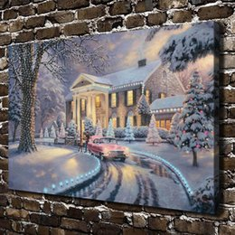$enCountryForm.capitalKeyWord Australia - Graceland Christmas,Home Decor HD Printed Modern Art Painting on Canvas (Unframed Framed)