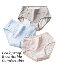 Chinese  Trendy Clothes Menstrual Moon Period Underwear Briefs Ladies Cotton Antibacterial Stretchy Comfortable Soft Breathable Leak Proof Panties manufacturers