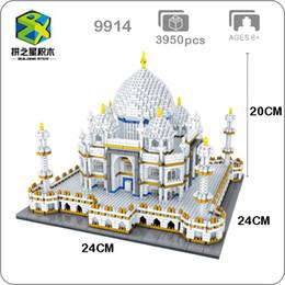 $enCountryForm.capitalKeyWord NZ - Bs 9914 World Famous Architecture India Taj Mahal Palace 3d Model Diamond Mini Diy Building Nano Blocks Toy For Children No Box MX190730