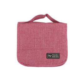 large black cosmetic bags 2019 - Fashion Women Large Capacity Waterproof Makeup Bag Business Men Toiletries Bag Travel Wash Kit Simple Cosmetic With Hook