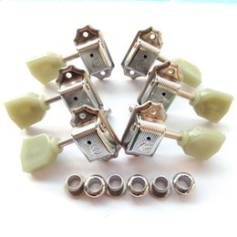 $enCountryForm.capitalKeyWord Australia - 1Set Silver 3R-3L Vintage Deluxe Electric Guitar Machine Heads Tuners For Epi SG LP Tuning Pegs Made in Korea