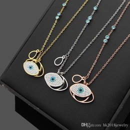 Necklaces Pendants Australia - Luxury Brand Hot Selling Stainless Steel Men Women Pendant Necklace Fashion Swar Evil Eye Lover's Gift Charm Necklace Jewelry