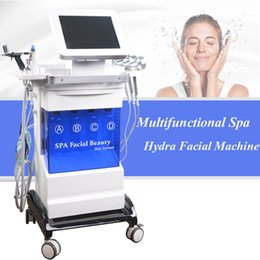 used microdermabrasion machines Australia - Used spa equipment diamond dermabrasion fine lines removal machine hydro microdermabrasion Skin texture improvement oxygen jet device
