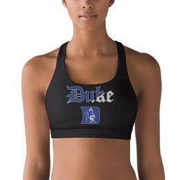 $enCountryForm.capitalKeyWord Australia - Duke Blue Devils basketball logo Mesh 100% Polyester Fiber Vest Breathable Top Quick-Drying Yoga Bra Shaping Padded Yoga Vest Gym