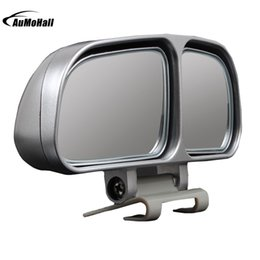 $enCountryForm.capitalKeyWord NZ - Exterior Parts Covers 1 Pair Car Mirrors Auto Rearview Mirror Wide Angle Side RearView Car Universal Blind Spot Square Mirror of
