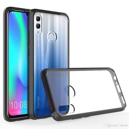 $enCountryForm.capitalKeyWord Australia - Crystal Clear Hard Cover Case Shock Absorption with Soft TPU Bumper for Huawei Y7 2019 Y6 Pro 2019 Enjoy9 P10 lite P9 lite P8 Lite P20 lite