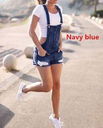 Short Suspenders Jumpsuit Australia - 2019 Newest Women's Denims Pants Hole Jumpsuits Romper Ripped Jeans Overralls Suspender Trousers Shorts Outdoors Plus Size G3p7