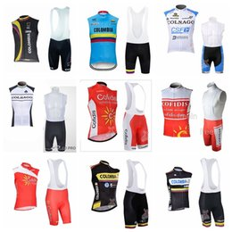cad6131b7 COFIDIS COLNAGO Colombia team Cycling Sleeveless jersey Vest (bib)shorts  sets bike MTB sport ropa ciclismo hombre bicycle clothing 21910F