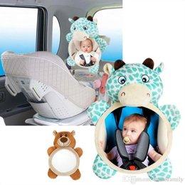 Toptan satış Bebek Arabası Güvenliği Dikiz Aynası Araç Arka Monitör Geri Koltuk Dikiz Aynası Ayarlanabilir Bebek Koltuğu Görünüm Ayna Dikiz Aynalar DYP7042 Assist