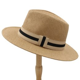 727717fec74db Straw Hats Women Summer UK - 2019 6 Color Summer Women Men Straw Sun Hat  With