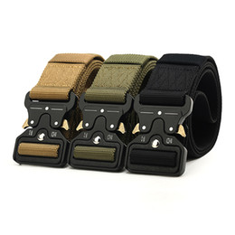 wide belts men 2019 - Hiphop Street Wear Belt Rollercoaster Metal Button Canvas For Women Men Safety Belts Fashion Rollercoaster High Quality