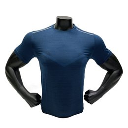 quick drying sports t shirt Australia - T Shirt Fitness Men 2019 Running Sport Workout Jersey Quick Dry 3D Shirt Men Compression Short Sleeve Training Bodybuilding Tee
