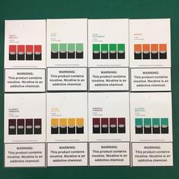 China New Package Vape Pen Compatible Pods Mango Cool Mint Device Pods Cartridges for E Cigarette Vaporizer Portable Kit refillable pod Cartridge suppliers