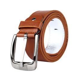 01196d83b98 Hot 2017 Brand New Luxury Desinger Women Mens PU Leather Belt Square Silver  Buckle Plain Casual Waist Belts ceinture homme Z1