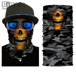 $enCountryForm.capitalKeyWord Australia - 10pcs Multifunctional Motorcycle Face Shield Bandana Skull Scarf UPF High Quality Tube Skull Face Mask Shield Seamless Bandanas
