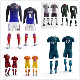 137ffb158 Cheap Custom football jersey Design Your Own Soccer Uniforms Customized  Professional Wholesale Mens Soccer Jersey