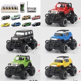 Wholesale Micro Brush Australia - Race Remote Control Car Funny Coke Can RC Radio car Remote Control Micro Racing Car Kids Toys