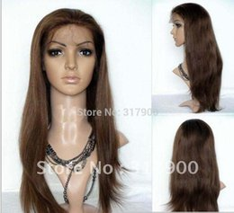 Malaysia hair lace wig online shopping - gt gt gt New Hot Sell fashion full Lace Wig Malaysia silk Straight Indian Remy quot baby hair