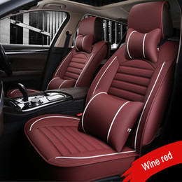 accord accessories 2019 - 2018 New PU Leather car seat covers For Honda CRV XRV Odyssey City crosstour CRIDER VEZEL Accord Auto Car Water-Proof Pr