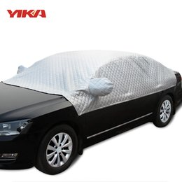 Discount anti sun car - YIKA Car Sunshade Universal Car Covers Sun Protection Windshield Heat Insulation Outdoor Sun Shade Anti UV Scratch Resis