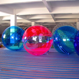 Inflatable Pool Water Walking Balls Australia - Free Shipping Dia 2.5m New Toy 2019 Human Bubble Ball Inflatable Walk On Water Ball For Swimming Pool Floating Walking Balloons For Sale