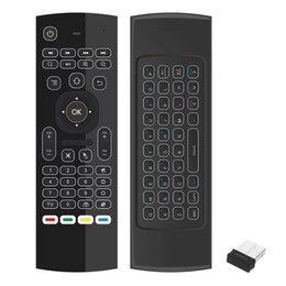 wireless keyboard for linux UK - Keyboard Fly Air Mouse Wireless Remote Control Touchpad 2.4GHz for Linux Mac OS Windows PC Smart TV Set-Top Android TV BOX
