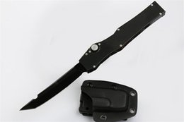 "utility pocket knives Australia - Free DHL Camping gear Black Knife 4.6"" Survival Pocket Knife 150-1 ELMAX Blade Tanto Edge Outdoor Utility Hunting Tools Knives J47M Y"