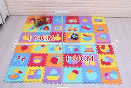 $enCountryForm.capitalKeyWord Canada - Baby Mat Soft Foam Baby Children Kids Play Educational Mat Alphabet Number Puzzle Blocks Jigsaw Floor mat moisture barrier monolithic