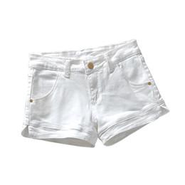 Plus Size High Waist White Jeans Australia - Plus Size 3xl White Denim Shorts Women 2019 Summer Stretch High Waist Short Jeans Sexy Short Femme Denim Trousers Women C4043 J190430