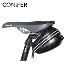 ReaR Rack bike bag online shopping - Bike Rear Bag Reflective Rain Waterproof Portable Mountain Road Bike Rack Frame Tube Cycling Tail Bag Bicycle Saddle Bag