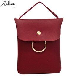 Designer Crossbody Bags Australia - Cheap Aelicy Small Women Messenger Bag  Simple Designer PU Leather Crossbody 447aa0055e83c
