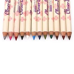 Full Eyeliner NZ - MENOW 12 colors Eye Make Up Eyeliner Pencil Waterproof Eyebrow Beauty Pen Eye Liner Lip sticks Cosmetics Eyes Makeup lip liner P15006