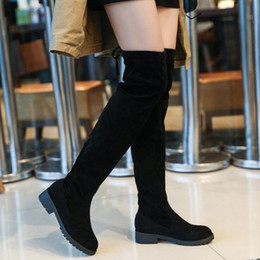 knight hair Canada - 2019 new Women's shoes. Winter Half boots. Casual fashion Women's boots. Keep warm. Waterproof. Martin. suede. Leather. Rabbit's hair. 79582