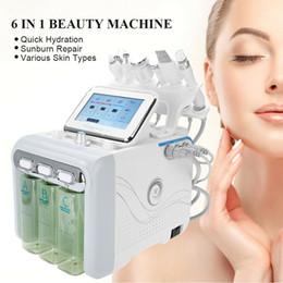 Discount ultrasound skin machine - Hydrafacial Machine Water Microdermabrasion Ultrasound Hydra Aqua Peeling 6 in 1RF Facial SPA Oxygen Skin Scrubber